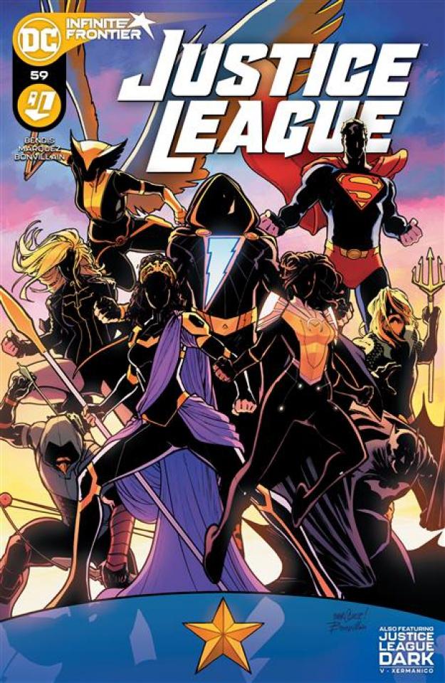 Justice League #59 (David Marquez Cover)