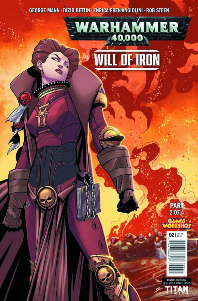 Warhammer 40,000: Will of Iron #2 (Qualano Cover)
