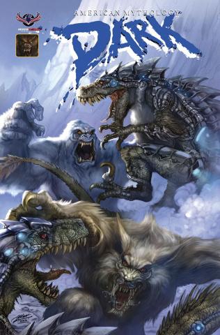 American Mythology Dark: Werewolves vs. Dinosaurs vs. Yetis #2