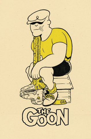 The Goon #7 (Rob Jones Cardstock Cover)
