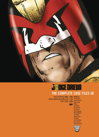 Judge Dredd: The Complete Case Files Vol. 36