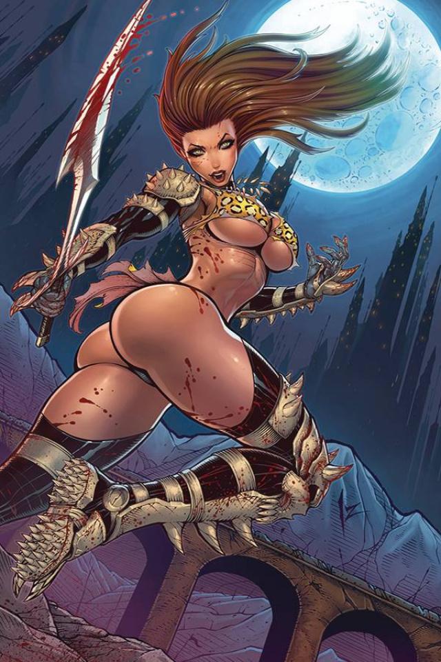 Cavewoman: Metal Age #2 (Izik Bell Cover)