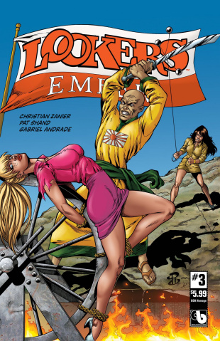 Lookers: Ember #3 (GGA Homage Cover)