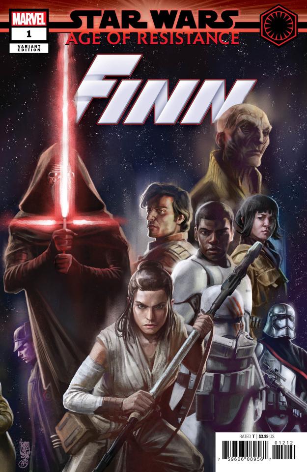 Star Wars: Age of Resistance - Finn #1 (Camuncoli Bonetti Promo Cover)