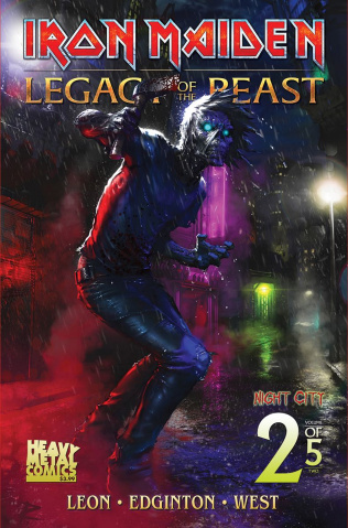 Iron Maiden: Legacy of the Beast - Night City #2 (Cover C)