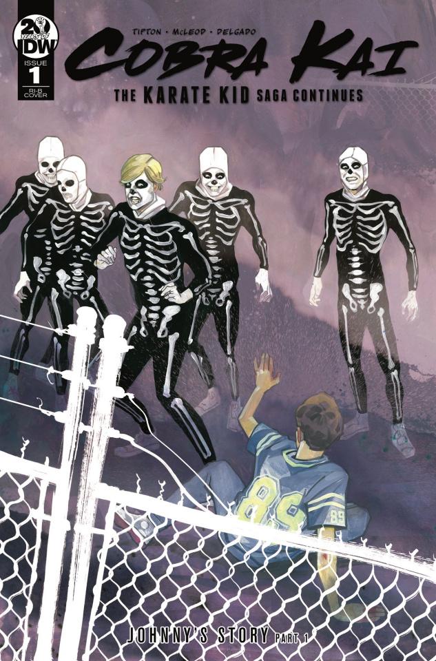 Cobra Kai: The Karate Kid Saga Continues #1 (25 Copy Cover)
