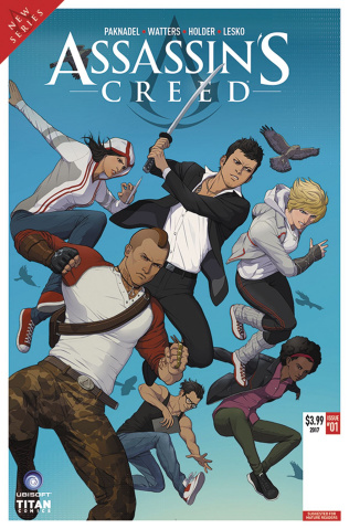 Assassin's Creed: Uprising #1 (Doubleleaf Cover)