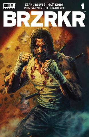 BRZRKR #1 (25 Copy Bermejo Cover)