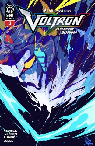 Voltron: Legendary Defender #5 (Yamashin Cover)