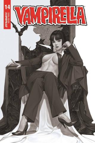 Vampirella #14 (40 Copy Lee B&W Cover)