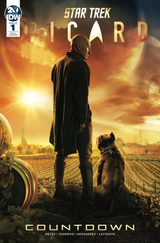 Star Trek: Picard - Countdown #1 (10 Copy Photo Cover)