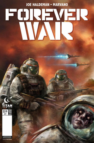 The Forever War #1 (Percival Cover)