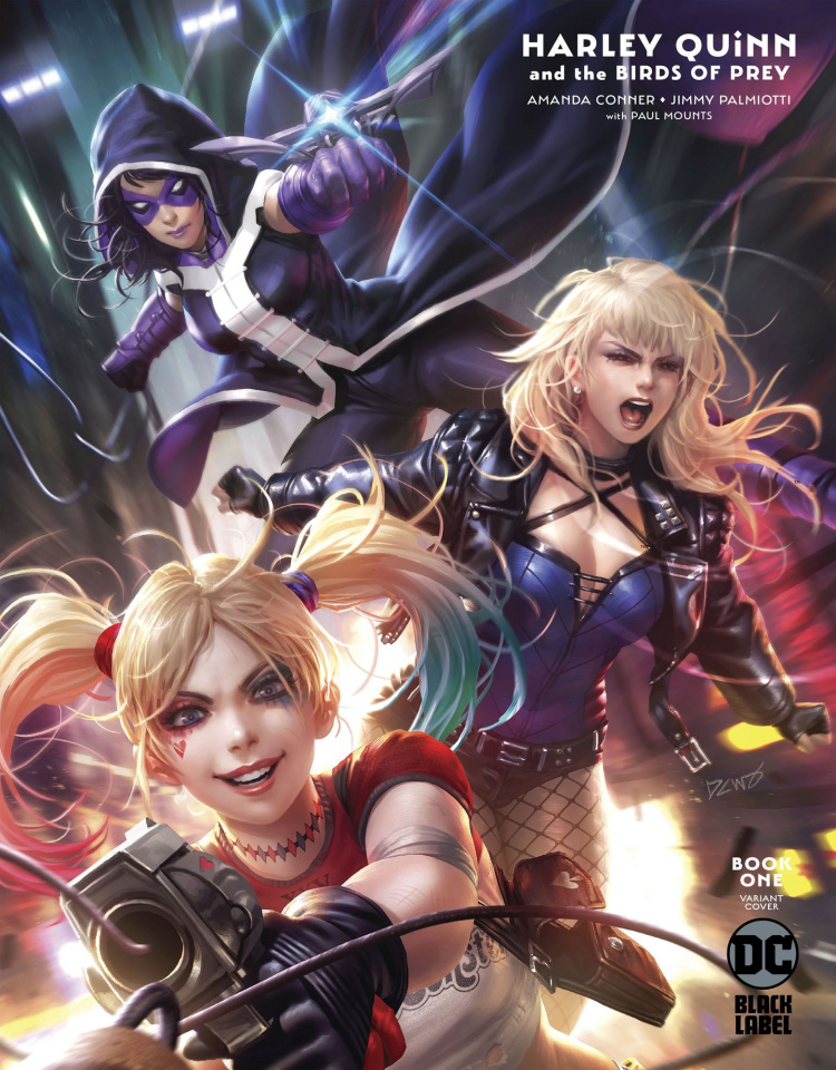Harley Quinn and The Birds of Prey #1 (Derrick Chew Cover)