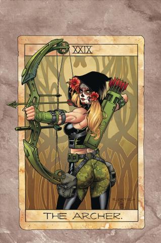 Grimm Fairy Tales: Robyn Hood - Tarot (Ortiz Cover)