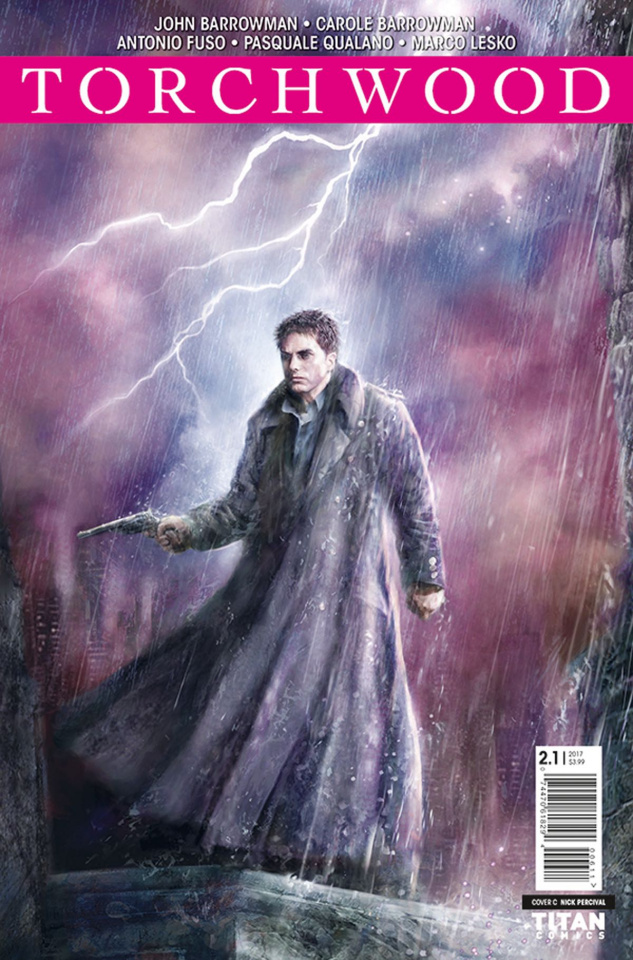 Torchwood 2 #1 (Percival Cover)
