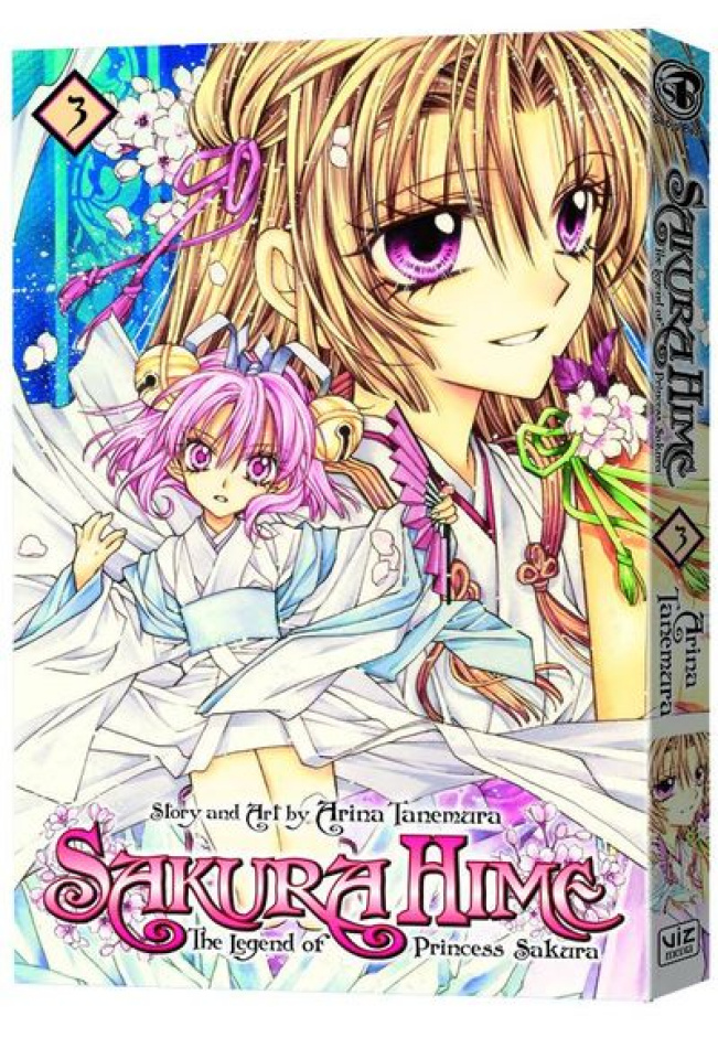 Sakura Hime: The Legend of Princess Sakura Vol. 3