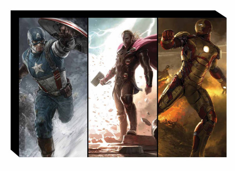 The Road To Avengers: Age of Ultron Art Slipcase