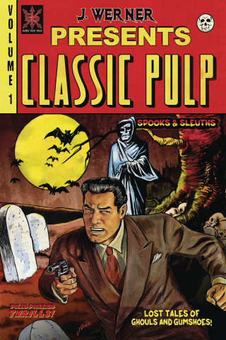 Classic Pulp #1 (Spooks and Sleuths Cover)