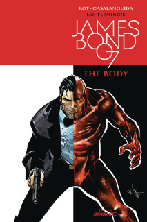 James Bond: The Body #1 (Casalanguida Cover)