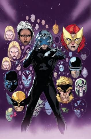 Powers of X #4 (Silva Virgin Cover)