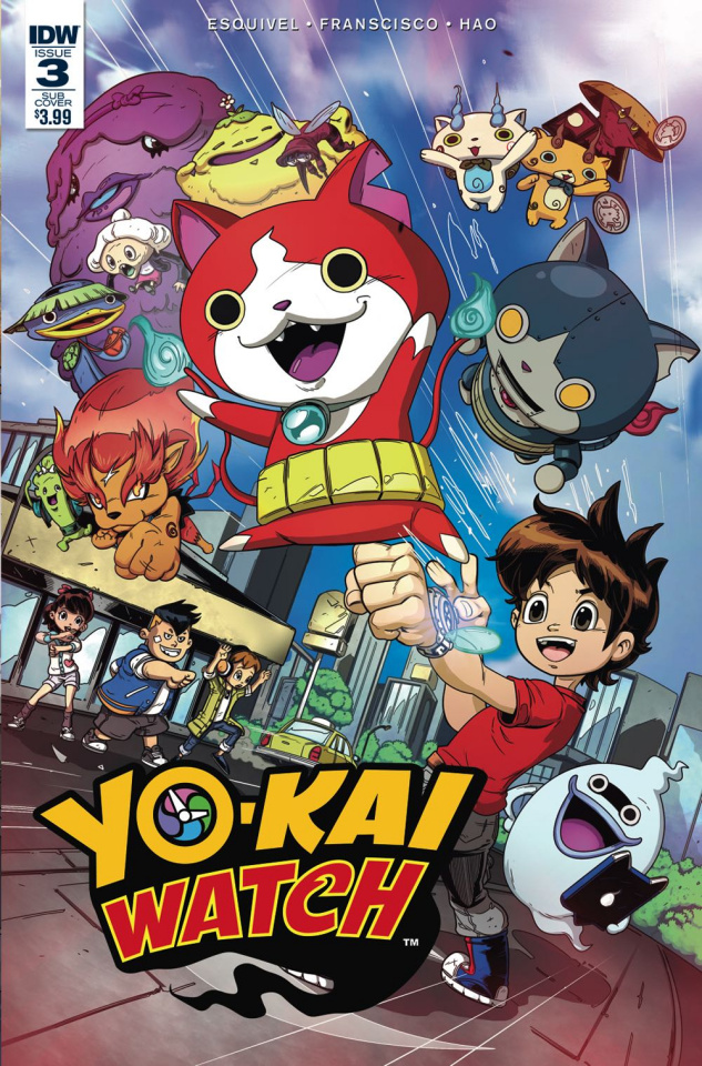 Yo-Kai Watch #3 (Subscription Cover)