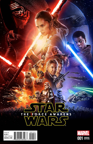 Star Wars: The Force Awakens #1 (Movie Cover)