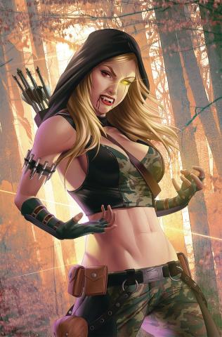 Van Helsing vs. Robyn Hood #1 (Meguro Cover)
