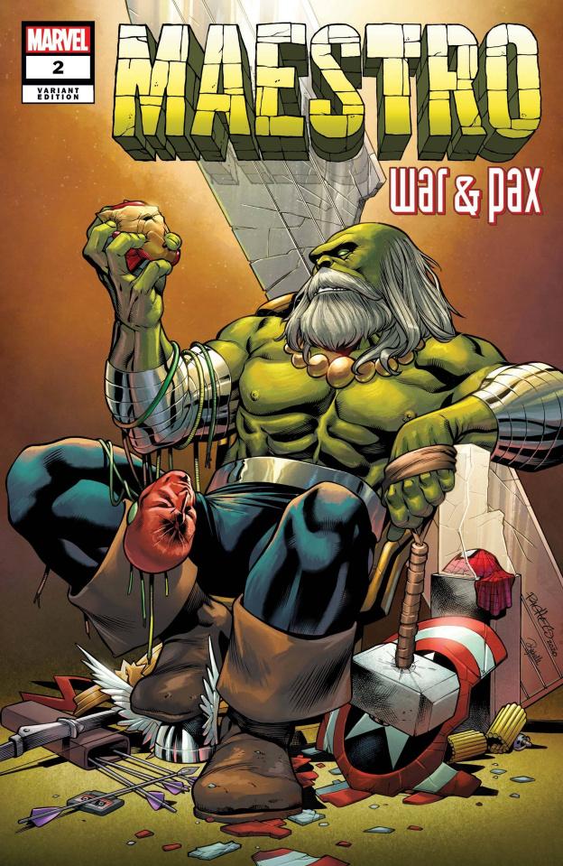 Maestro: War & Pax #2 (Pacheco Cover)