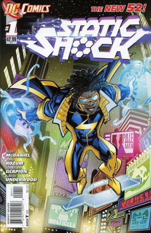 Static Shock #1 (2nd Printing)