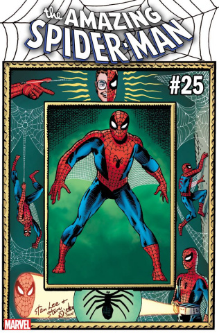 The Amazing Spider-Man #25 (Ditko Hidden Gem Cover)