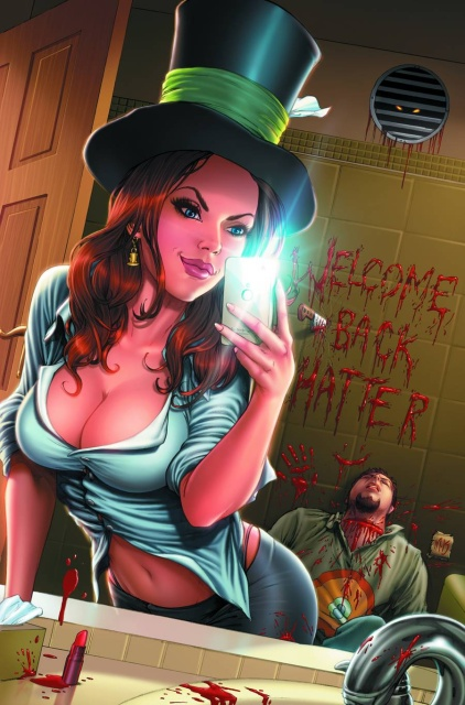 Grimm Fairy Tales: The Madness of Wonderland #2 (Krome Cover)