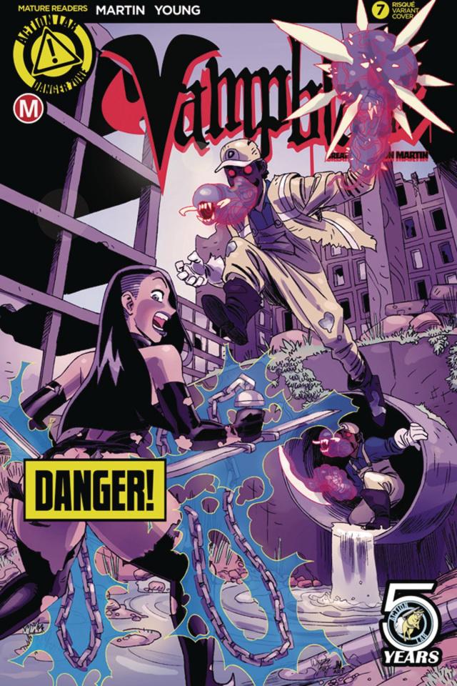 Vampblade #7 (Winston Young Risque Cover)