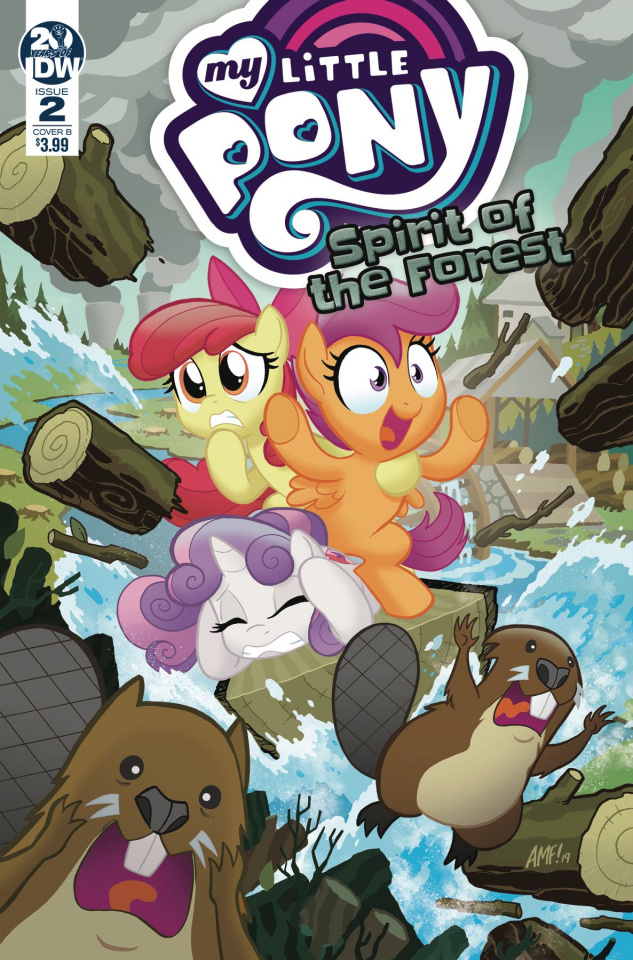 My Little Pony: Spirit of the Forest #2 (Fleecs Cover)