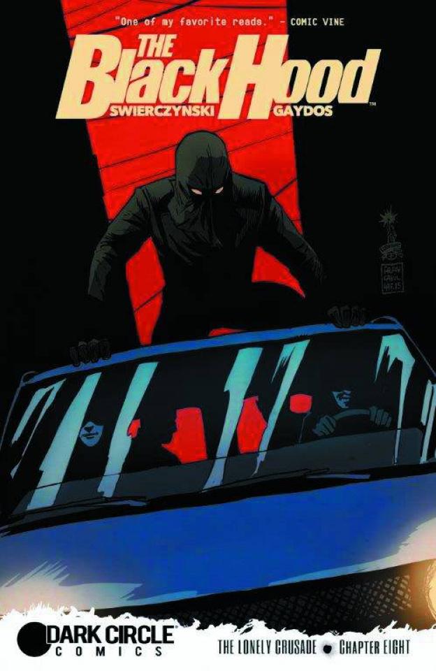 The Black Hood #8 (Francavilla Cover)