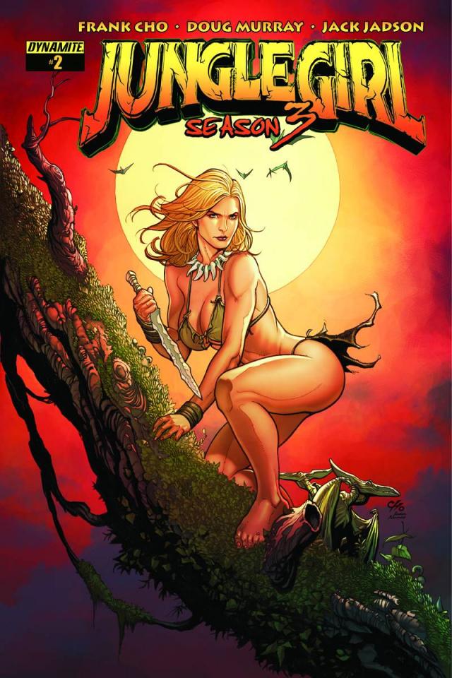 Jungle Girl, Season 3 #2 (Cho Cover)