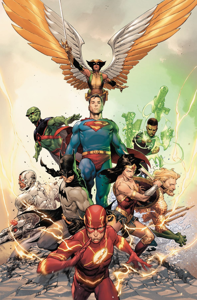 Justice League #23 (Variant Cover)