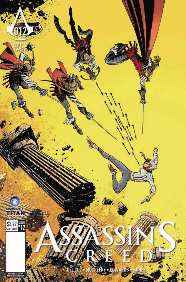 Assassin's Creed #12 (McCrea Cover)