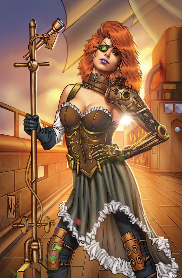 Grimm Universe Presents Quarterly: Steampunk (Dipascale Cover)