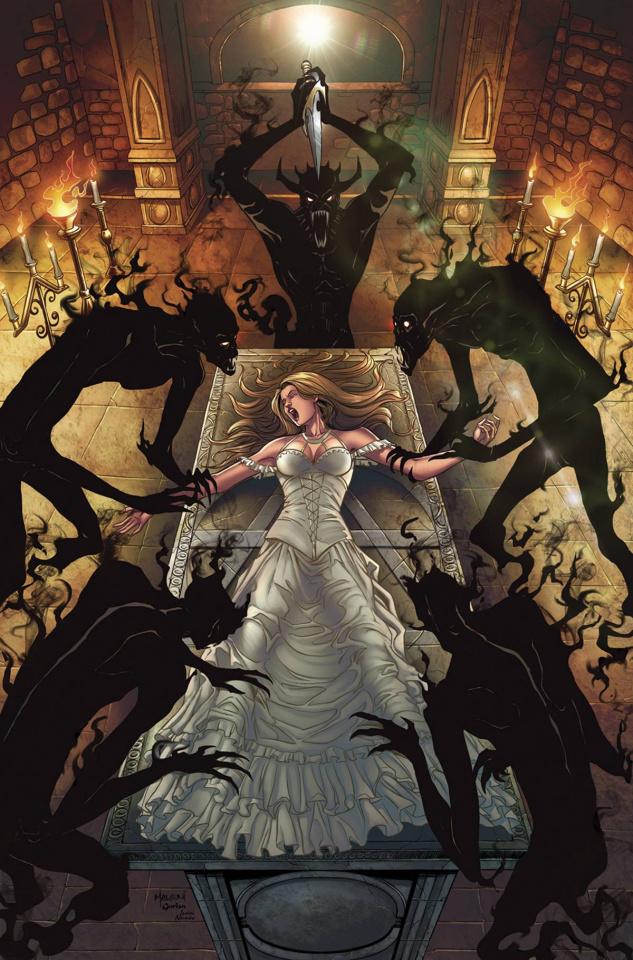 Grimm Fairy Tales: Satan's Hollow #1 (Malsuni Cover)