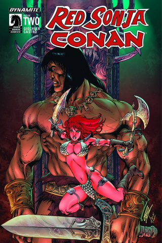 Red Sonja / Conan #2 (Subscription Cover)