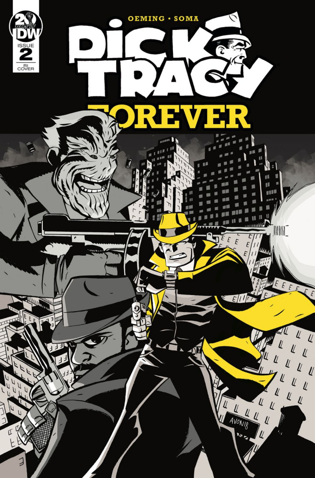 Dick Tracy Forever #2 (10 Copy Oeming Cover)