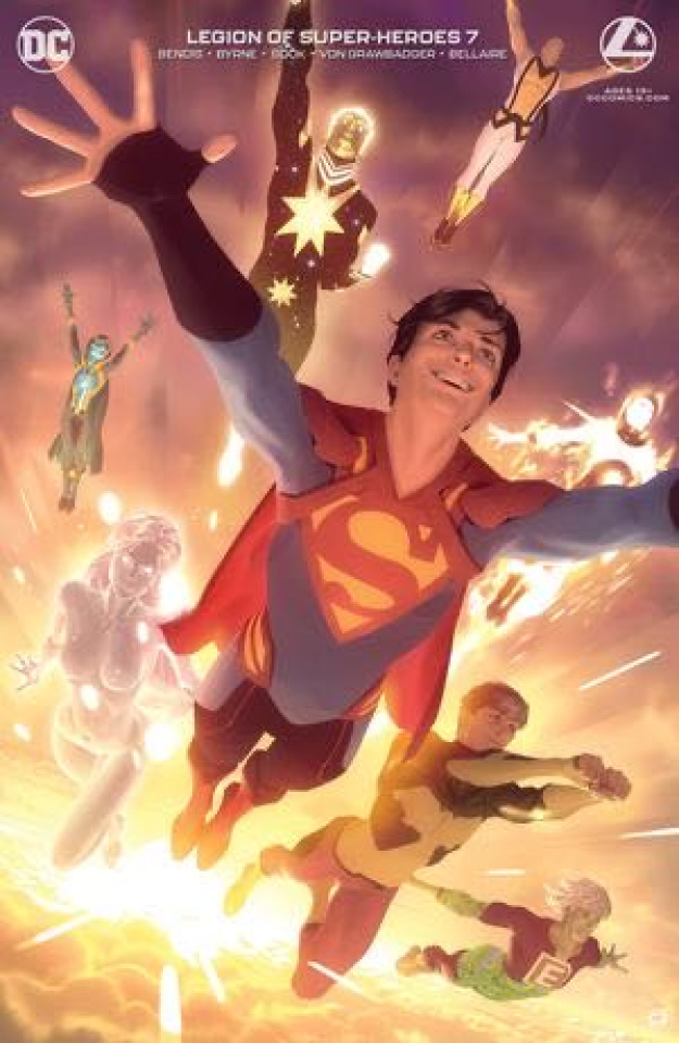 The Legion of Super Heroes #7 (Alex Garner Card Stock Cover)