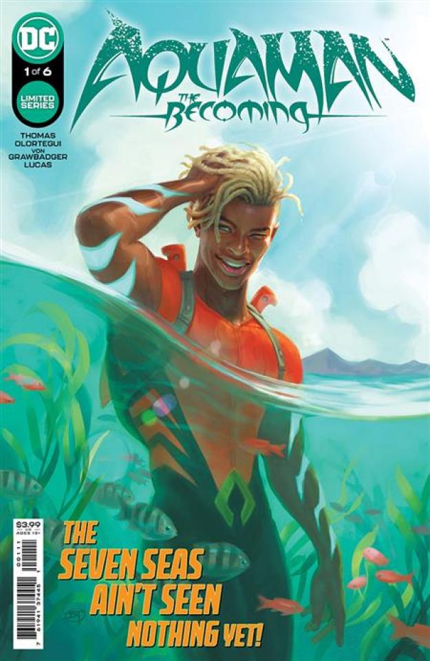 Aquaman: The Becoming #1 (David Talaski Cover)