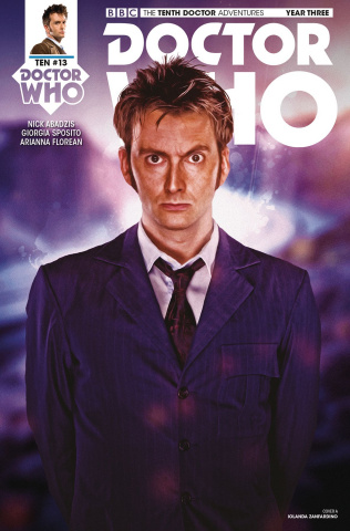 Doctor Who: The Tenth Doctor Adventures, Year Three #13 (Photo Cover)
