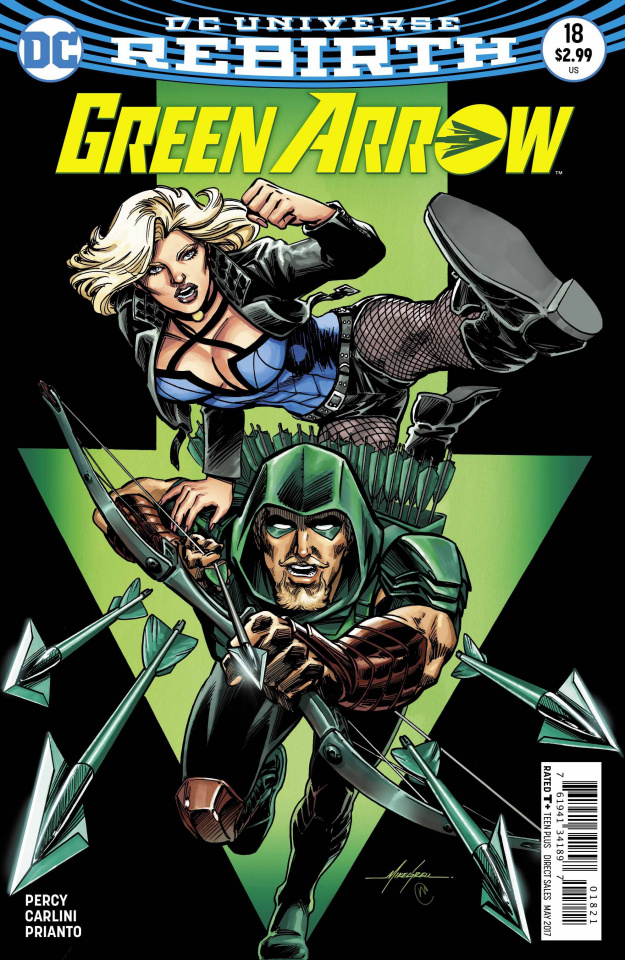 Green Arrow #18 (Variant Cover)