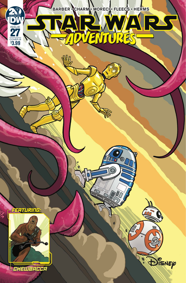 Star Wars Adventures #27 (Fleecs Cover)