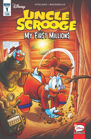 Uncle Scrooge: My First Millions #1 (Gervasio Cover)