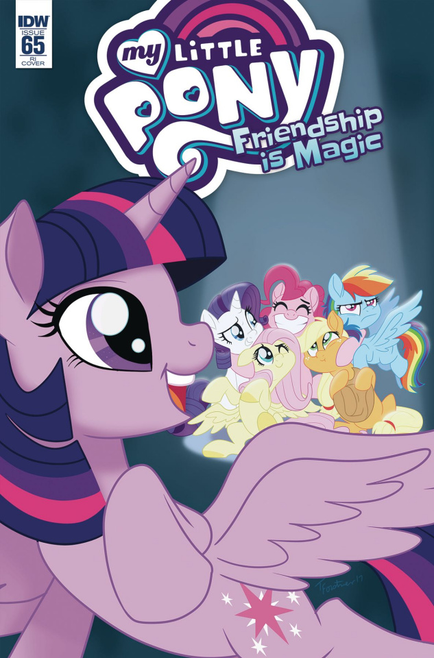 My Little Pony: Friendship Is Magic #65 (10 Copy Forstner Cover)