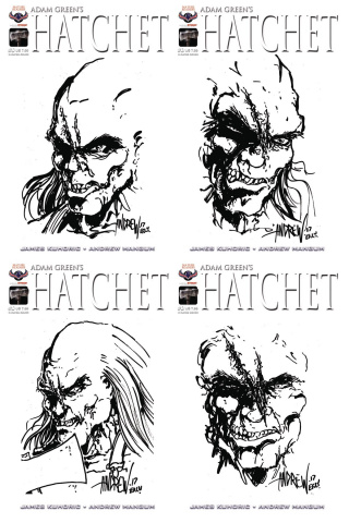 Hatchet #0 (Hand Drawn Sketch Cover)