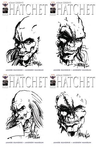 Hatchet #0 (Hand Drawn Sketch Cover)